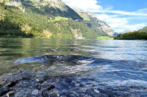 Kloentaler lake